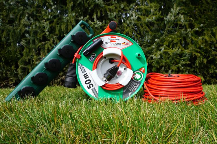 Turbo Kabelverlängerung im Garten - Die passende Gartenkabeltrommel finden OJ59