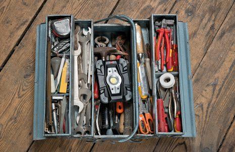 Werkzeugkoffer - LED Baustrahler