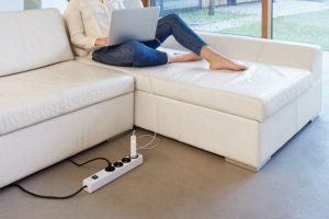 brennenstuhl® Steckdosenleiste mit erhöhtem Berührungsschutz