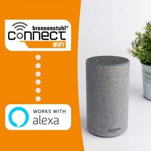 brennenstuhl Connect WiFi Steckdosen Sprachsteuerung mit Amazon Alexa