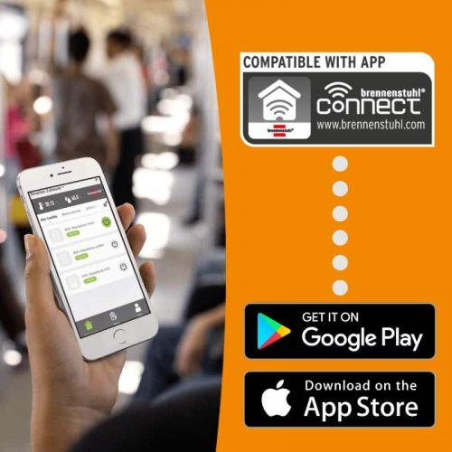 brennenstuhl Connect WiFi Steckdosen Sprachsteuerung mit der kostenlosen App
