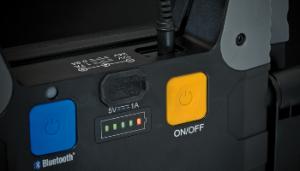 LED Baustrahler TORAN mit Bluetooth und On/Off Schalter