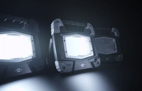 LED Baustrahler TORAN: Smarte Beleuchtung per Bluetooth