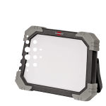 Break and impact-resistant, DINORA mobile LED floodlight with all-round protection
