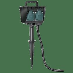 brennenstuhl® Gartensteckdosen mit Erdspieß